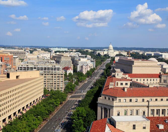 Washington DC, Pennsylvania Avenue, fedweek.com