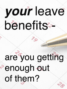 fedweek: your federal leave benefits, are you taking advantage?