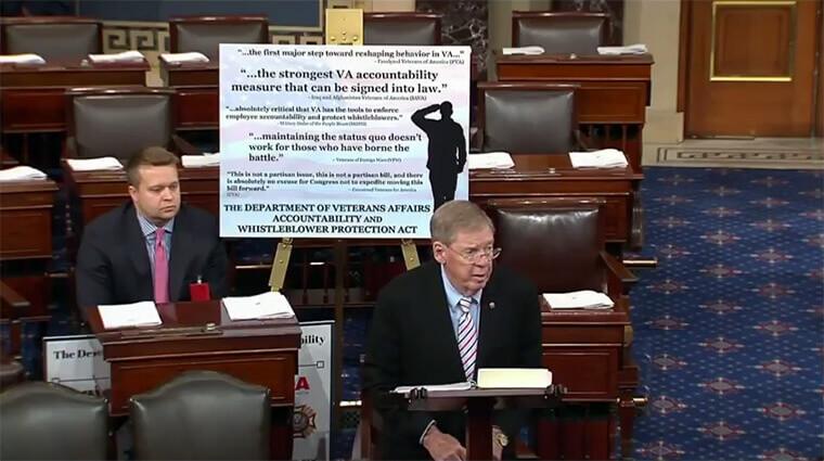fedweek.com | senate votes on va appeal rights
